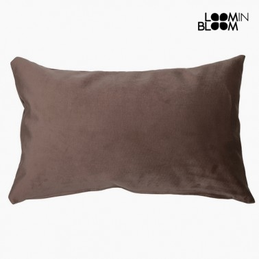 Coussin Polyester Marron (30 x 50 x 10 cm) by Loom In Bloom