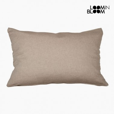 Coussin Coton et polyester Marron (30 x 50 x 10 cm) by Loom In Bloom