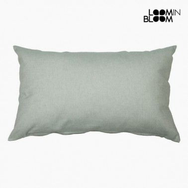 Coussin Coton et polyester Vert (30 x 50 x 10 cm) by Loom In Bloom