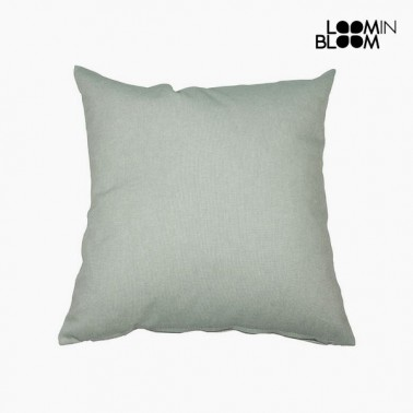 Coussin Coton et polyester Vert (45 x 45 x 10 cm) by Loom In Bloom