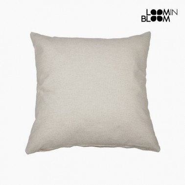 Coussin Coton et polyester Beige (45 x 45 x 10 cm) by Loom In Bloom