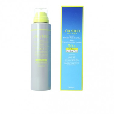 Brume Solaire Protectrice Sports Invisible Shiseido Spf 50+ (150 ml)